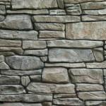 parete in pietra tipo ricostruita