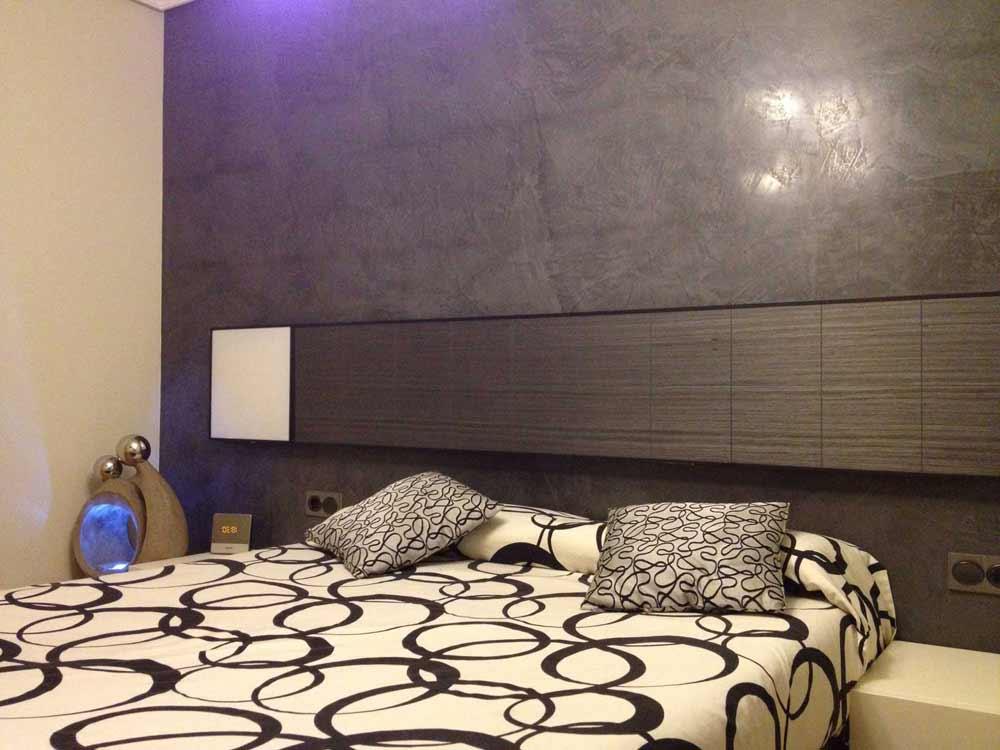Muri Interni Grigi : Colore grigio per pareti interne. pittura pareti moderna per interni