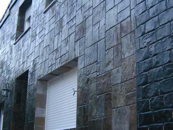 Rivestimento Esterno Casa Moderna : Immagini rivestimento pietra stampata e pietra ricostruita