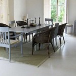 pavimento in microcemento grigio chiaro perla