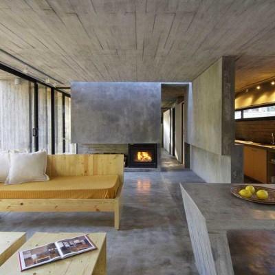 pavimento in cemento interno