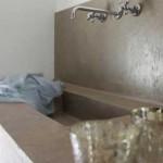 Tadelakt lavabo bagno