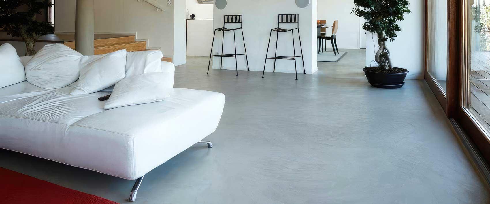 Pavimenti realizzati in Tadelakt Moderno