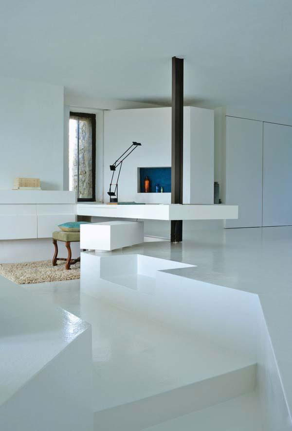 Resina Bianca Pavimento.Pavimenti In Resina Per Interni Sistema Infinity Indoor