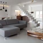 pavimenti in resina per interni grigio