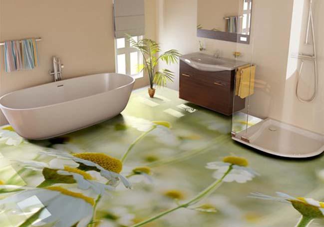 pavimento in resina effetto cubo di rubik pavimenti in resina