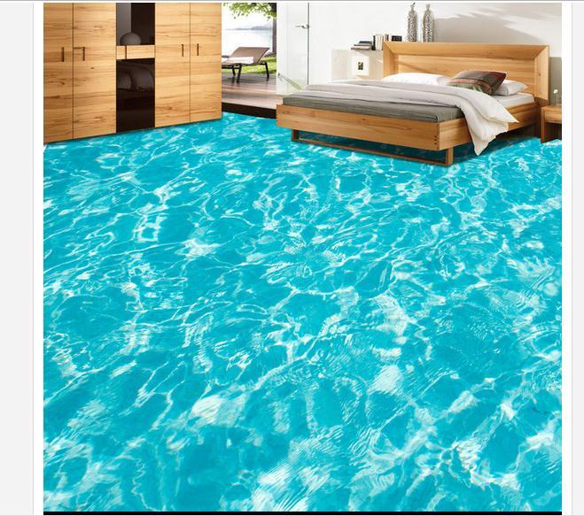Pavimenti in resina 3d decorativi pavimento moderno - Pavimento camera da letto ...