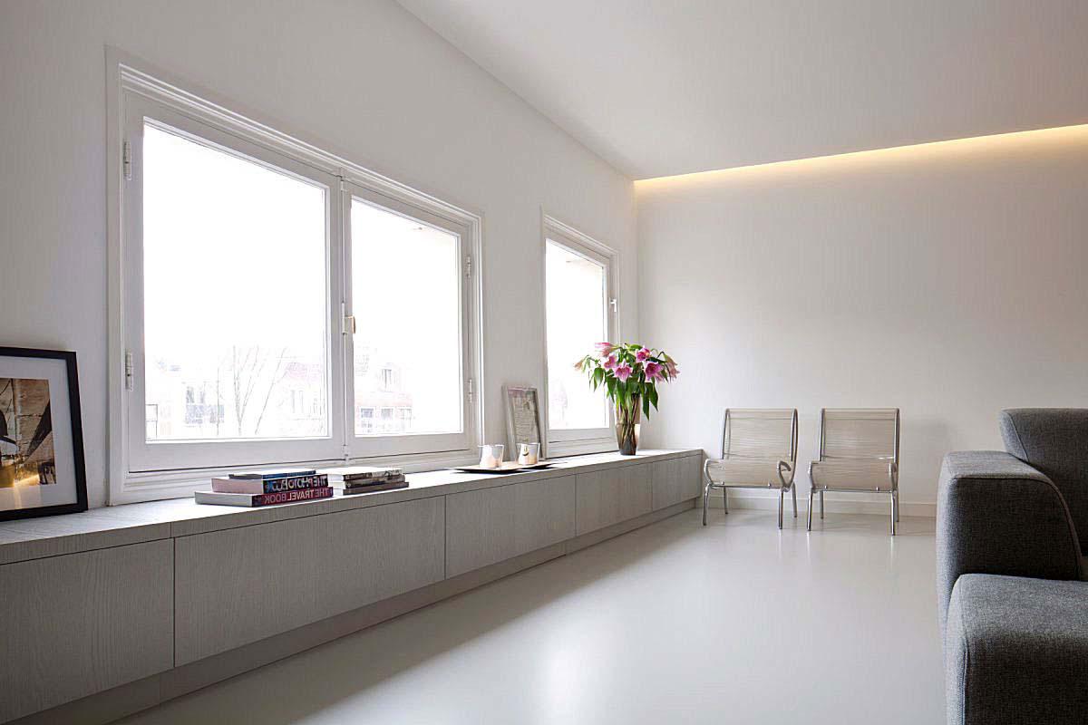 Pavimenti in resina per interni sistema infinity indoor for Pavimenti lucidi per interni
