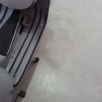 pavimento in resina spatolata a mano garage