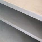 pavimento in resina arredi e pareti attrezzate