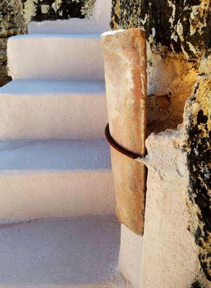 Gradini in pietra per scale esterne elegant scale interne for Micci peperino