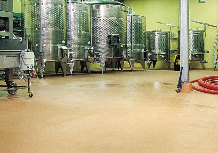 pavimenti per cantine vinicole antiscivolo
