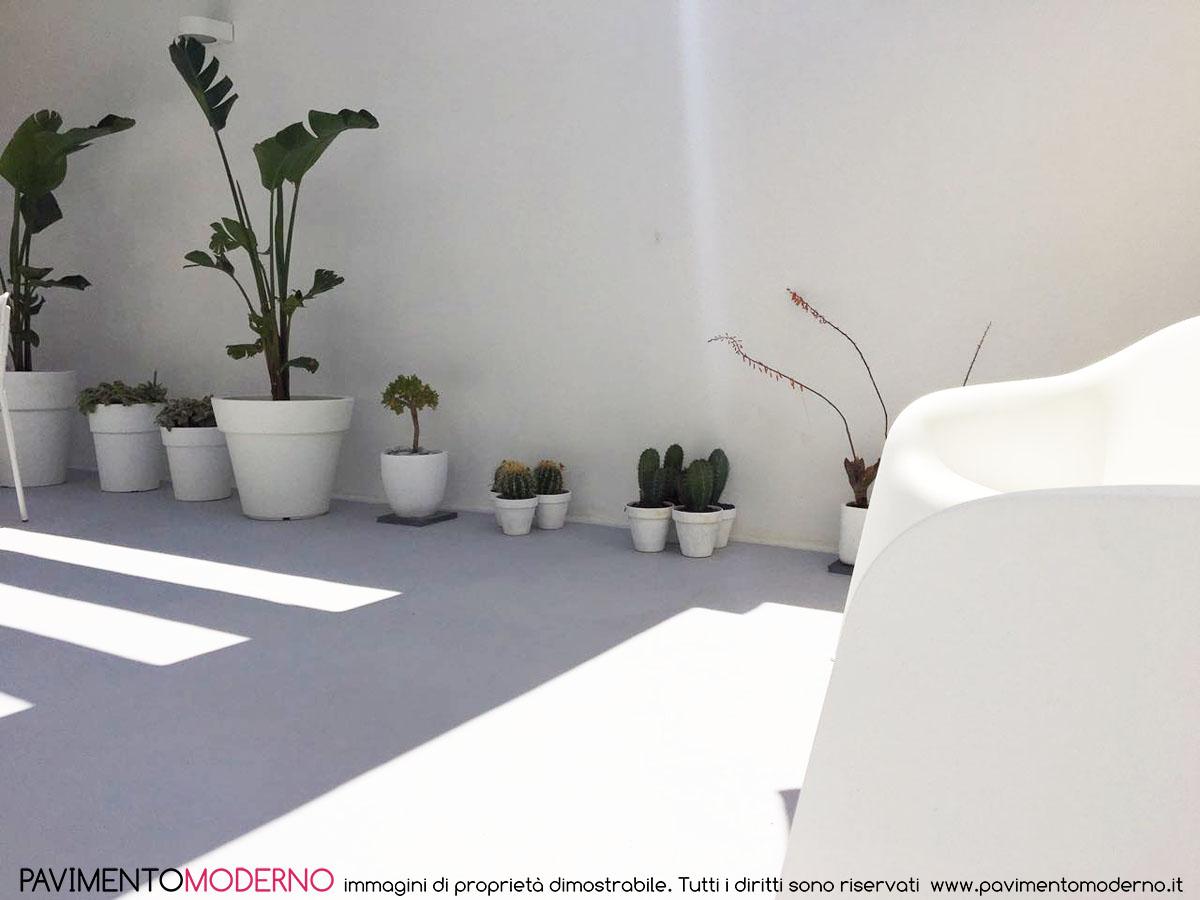 Resine Per Terrazze Esterne rinnovo pavimento esterno terrazza con resina opaca infinity