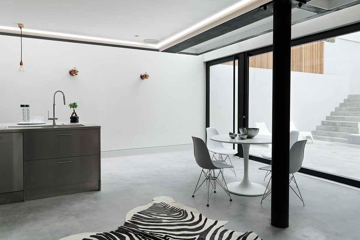 Pavimenti Moderni Senza Fughe immagini realizzazioni dei pavimenti in resina per interni