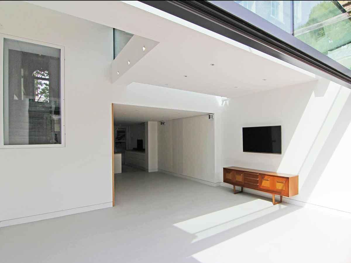 Pavimenti Moderni Senza Fughe pavimenti in resina per interni sistema infinity indoor
