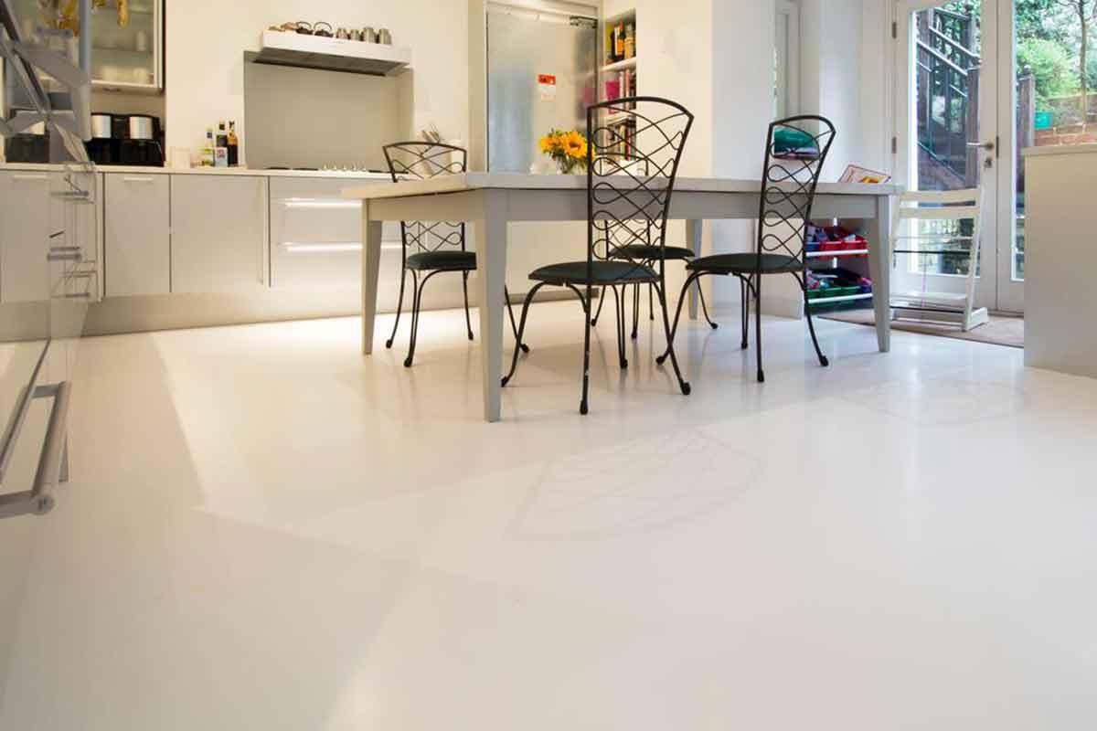Cemento Premiscelato Per Top Cucina pavimenti in resina per interni sistema infinity indoor