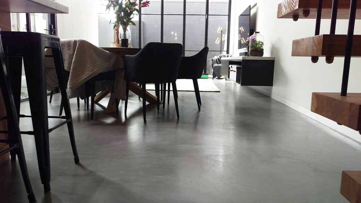 Pavimenti Moderni Senza Fughe pavimento economico spatolato eco per interni senza fughe