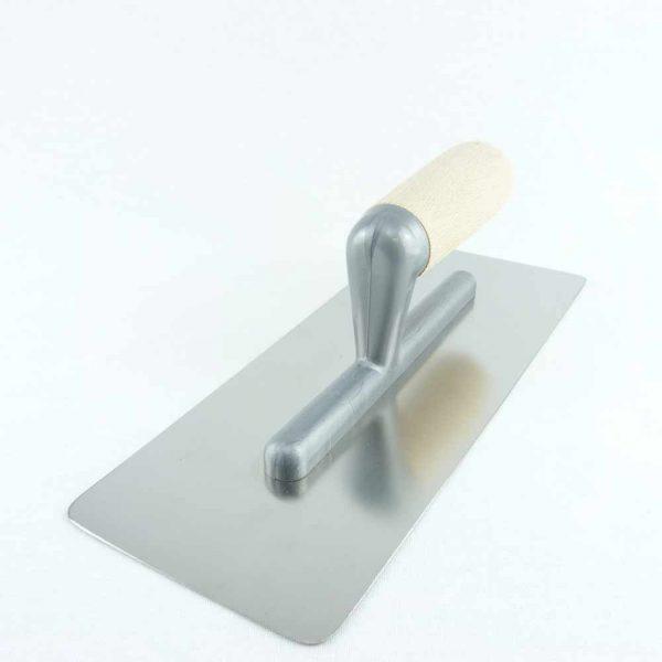 spatola americana acciaio inox manico legno